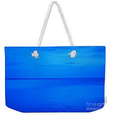 Blue Ocean Twilight Weekender Tote Bag by Randy Steele
