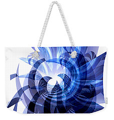 Blue Octopus  Weekender Tote Bag by Thibault Toussaint