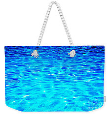 Blue Or Green Weekender Tote Bag by Ramona Matei