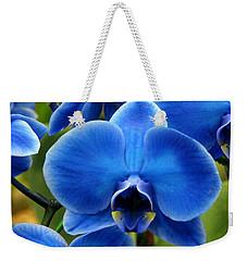 Blue Orchid Weekender Tote Bag