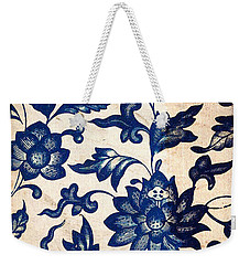 Blue Oriental Vintage Tile 06 Weekender Tote Bag