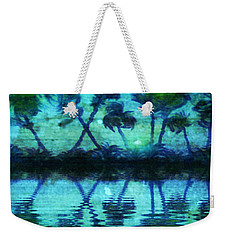 Blue Paradise Weekender Tote Bag by Holly Martinson