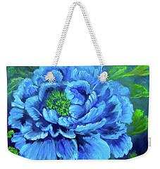 Blue Peony Jenny Lee Discount Weekender Tote Bag