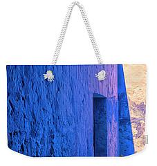 Blue Peru Weekender Tote Bag
