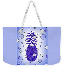 Blue Pineapple Weekender Tote Bag