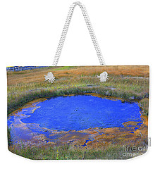 Blue Pool Weekender Tote Bag