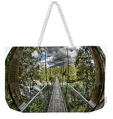 Blue Pools Bridge Weekender Tote Bag