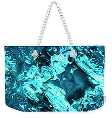Blue Portal Weekender Tote Bag