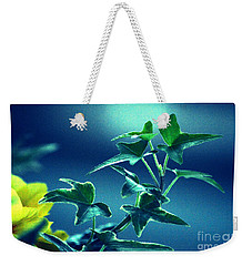 Weekender Tote Bag featuring the photograph Blue Power  by Susanne Van Hulst