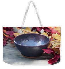 Blue Purple Bowl  Weekender Tote Bag