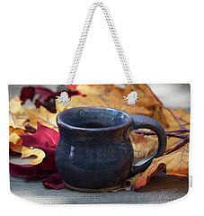Blue Purple Mug Weekender Tote Bag