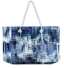 Blue Reflections Weekender Tote Bag by Patricia Strand