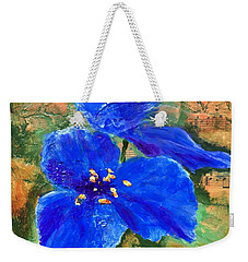 Blue Rhapsody Weekender Tote Bag
