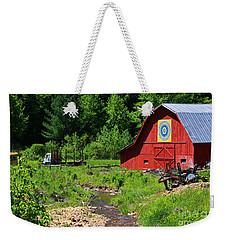 Blue Ridge Barn Weekender Tote Bag