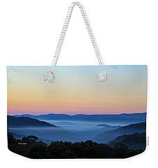 Blue Ridge Dawn Weekender Tote Bag by Dale R Carlson