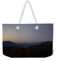 Blue Ridge Dawn Weekender Tote Bag