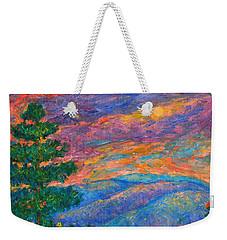 Blue Ridge Jewels Weekender Tote Bag