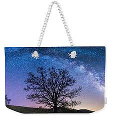Blue Ridge Milkyway Weekender Tote Bag by Robert Loe