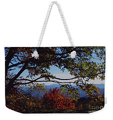 Blue Ridge Mountain View Weekender Tote Bag
