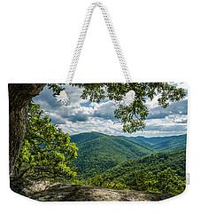 Blue Ridge Mountain View Weekender Tote Bag