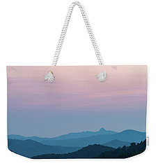 Blue Ridge Mountains After Sunset Weekender Tote Bag