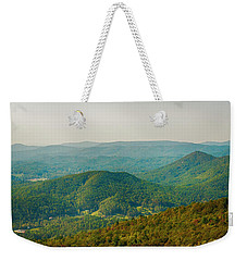 Blue Ridge Mountains Weekender Tote Bag