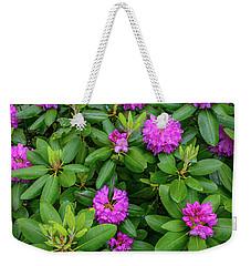 Blue Ridge Mountains Rhododendron Blooming Weekender Tote Bag