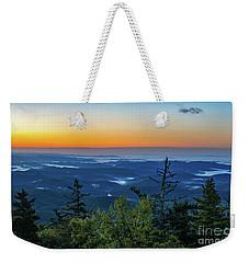 Blue Ridge Mountains Sunrise Weekender Tote Bag