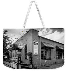 Blue Ridge Olive Oil Company In Black And White Weekender Tote Bag