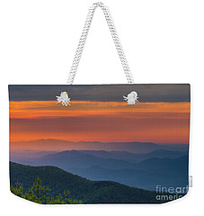 Blue Ridge Sunrise At Wintergreen  Weekender Tote Bag