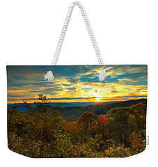 Blue Ridge Sunsets Weekender Tote Bag