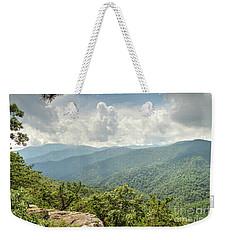 Blue Ridge View Weekender Tote Bag