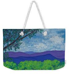 Blue Ridges 4 Weekender Tote Bag