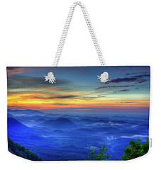 Weekender Tote Bag featuring the photograph Blue Ridges Pretty Place Chapel Wedding Venue Art  by Reid Callaway