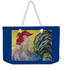 Blue Rooster Weekender Tote Bag