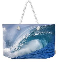 Blue Rush Weekender Tote Bag