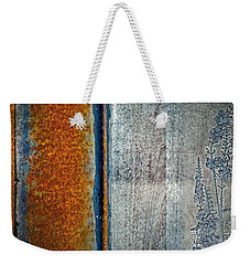 Blue Rust Weekender Tote Bag