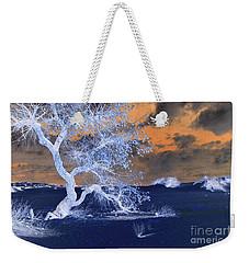Blue Sands Weekender Tote Bag
