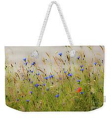 Blue Serenade Weekender Tote Bag