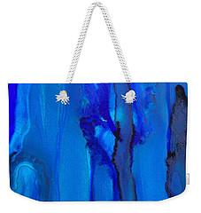 Blue Series  Weekender Tote Bag