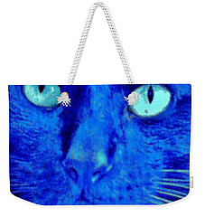Blue Shadows Weekender Tote Bag