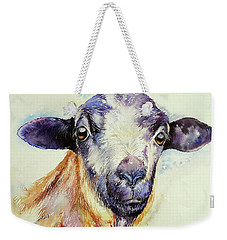 Blue Sheep Weekender Tote Bag
