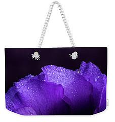 Blue Showy Prairie Gentain Weekender Tote Bag