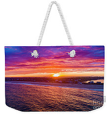 Blue Shutter East Beach Weekender Tote Bag