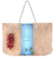 Blue Shutters And Chili Peppers Weekender Tote Bag