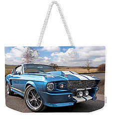 Blue Skies Cruising - 1967 Eleanor Mustang Weekender Tote Bag
