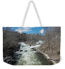 Blue Skies Over The Housatonic River Weekender Tote Bag