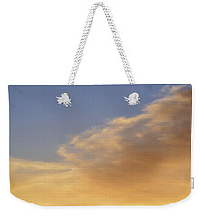 Blue Sky And Clouds Two  Weekender Tote Bag by Lyle Crump