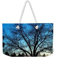 Blue Sky At Night Weekender Tote Bag