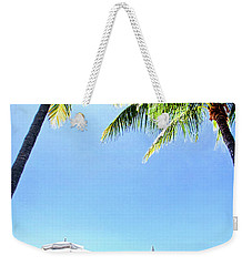 Weekender Tote Bag featuring the photograph Blue Sky Breezes by Phil Koch